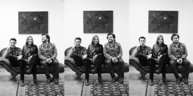 Noah Gunderson, Abby Gunderson and David Ramirez
