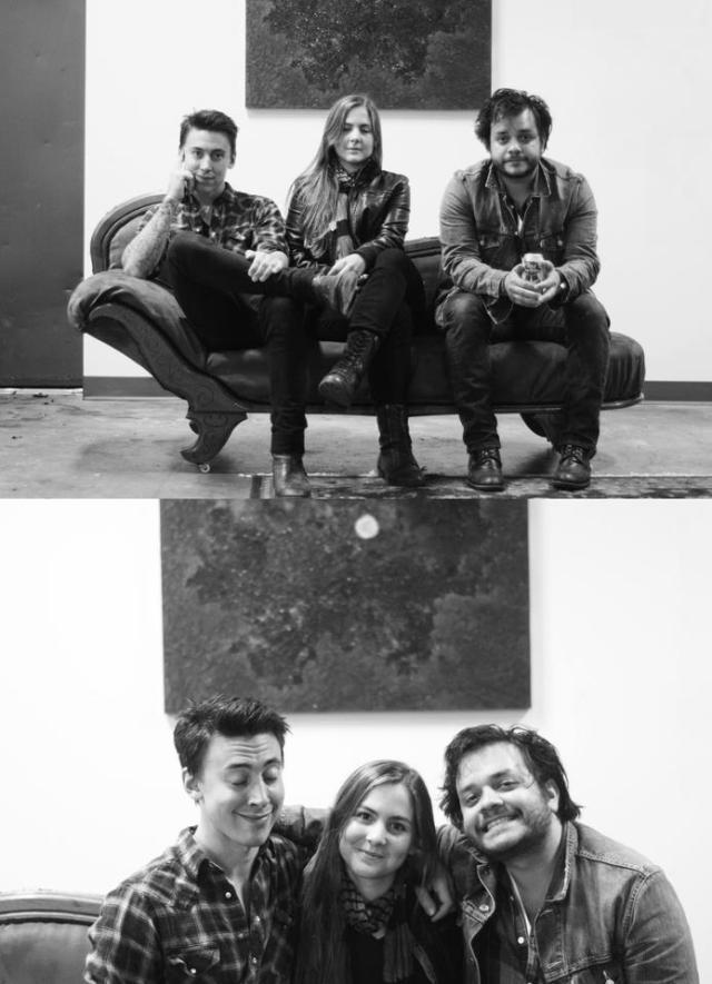 Noah Gunderson, Abby Gunderson and David Ramirez.