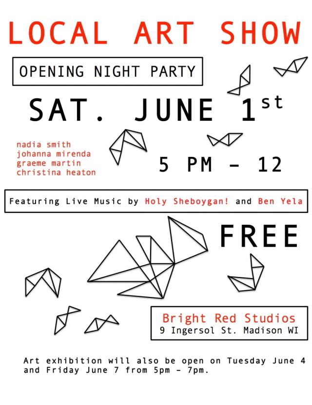 Group Art Show June 1-8
